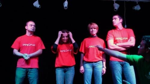 Formula completa: Florin, Felicia, Aura, Andrei si George, de data acesta in postura de moderator